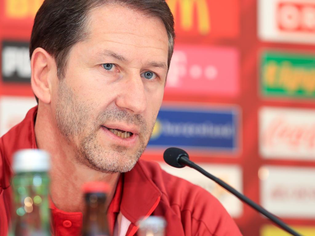Teamchef Franco Foda versprüht Optimismus