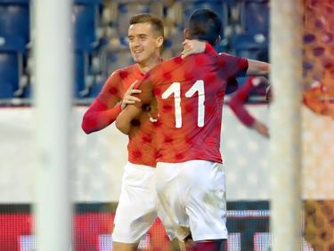 Arnel Jakupović und Adrian Grbić wissen, wo das Tor steht