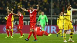 Jubel bei Fortuna Düsseldorf, Entsetzen beim BVB