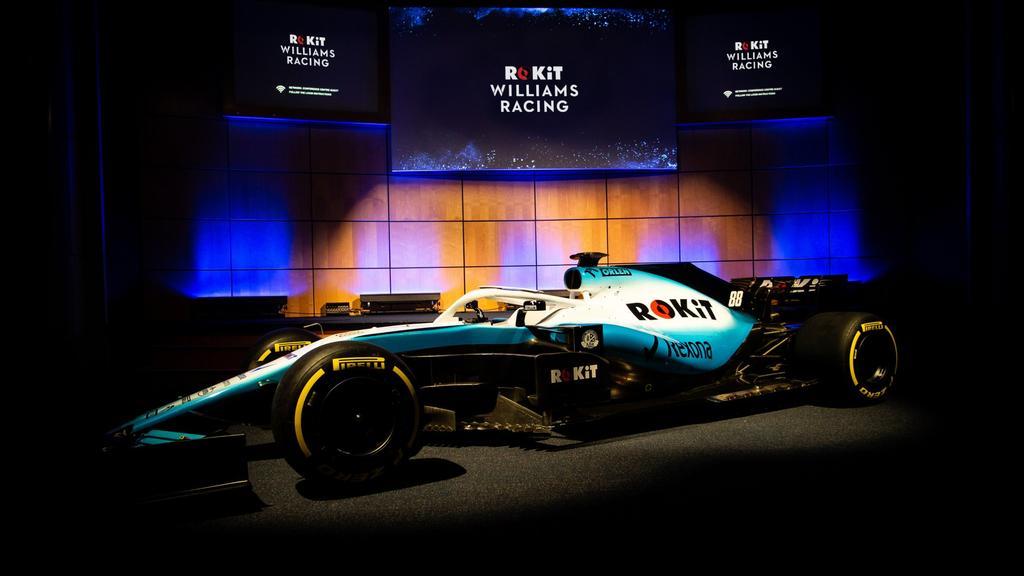 Williams präsentiert Auto für Formel-1-Saison 2019
