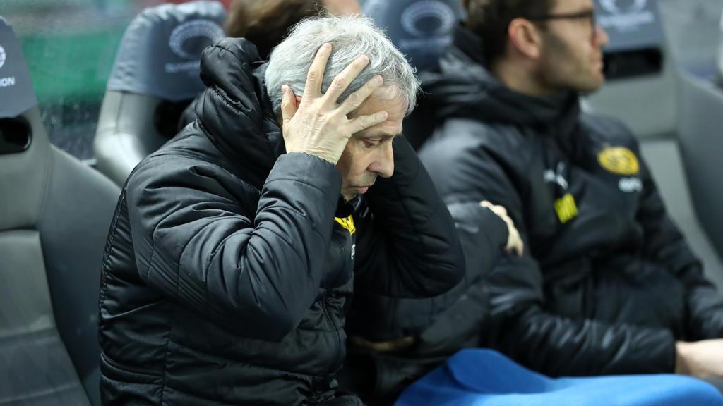 BVB-Trainer Lucien Favre soll in der Kritik stehen