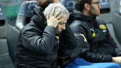 BVB-Coach Lucien Favre hadert mit der Hand-Regel