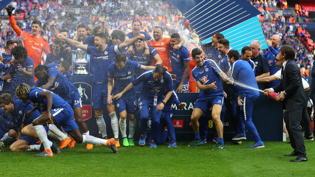 Der FC Chelsea feierte 2018 als letzter FA-Cup-Sieger noch mit