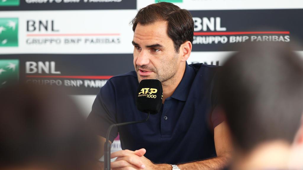 Roger Federer hat die Turnierveranstalter in Rom kritisiert