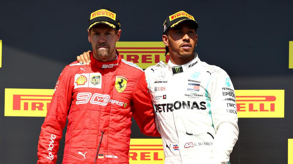 Lewis Hamilton könnte sich zurzeit kein schöneres Leben vorstellen