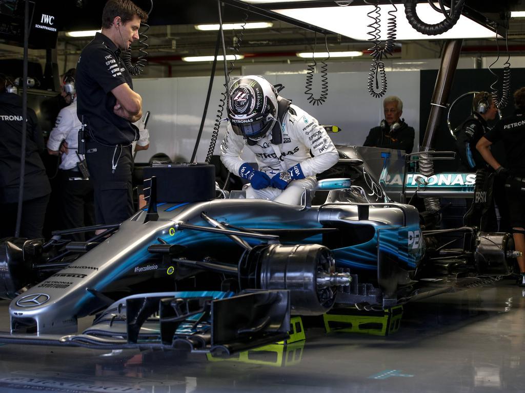 Der W08 gab Mercedes lange Rätsel auf