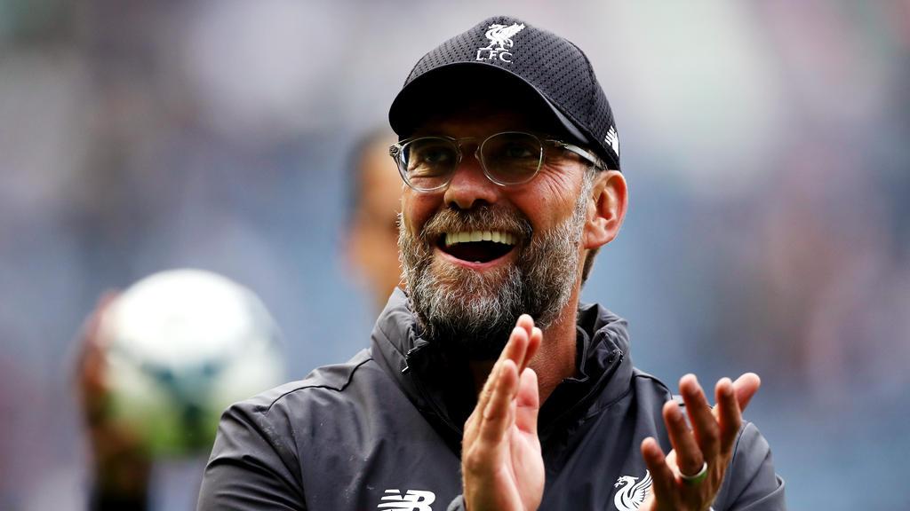 Jürgen Klopp verlängerte seinen Vertrag beim FC Liverpool