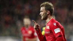 Sebastian Andersson ist bester Torschütze von Union Berlin