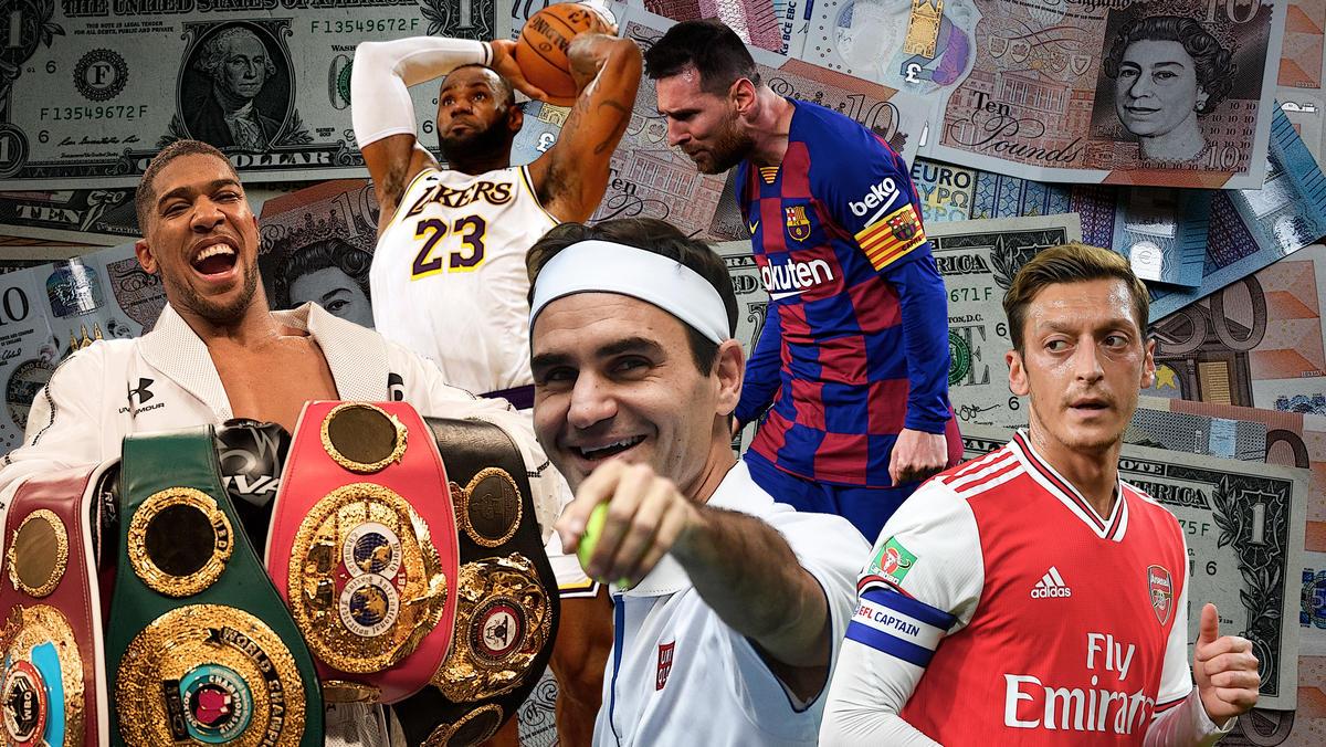 Lionel Messi und Co. haben im letzten Jahr kräftig abkassiert