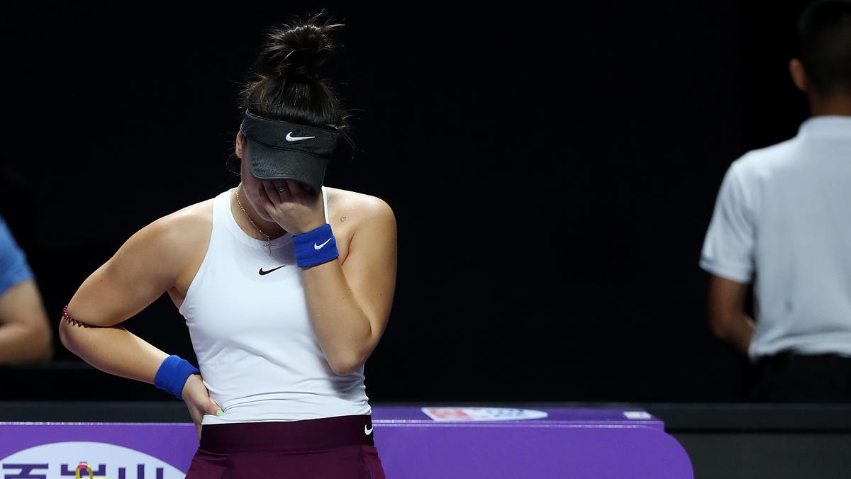 Weiter verletzt: Bianca Andreescu