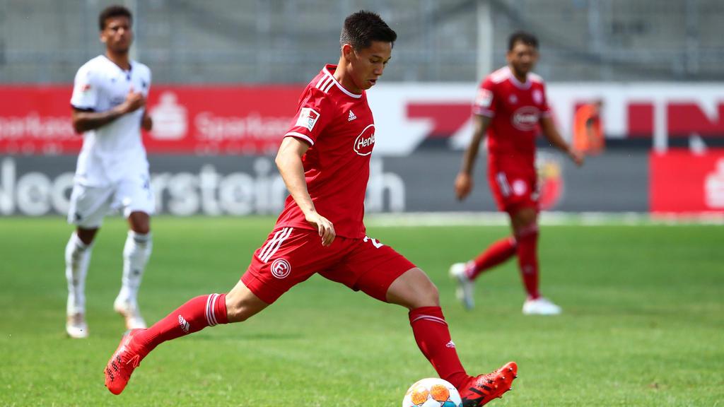 Eintracht Frankfurt bemühte sich wohl um Shinta Appelkamp