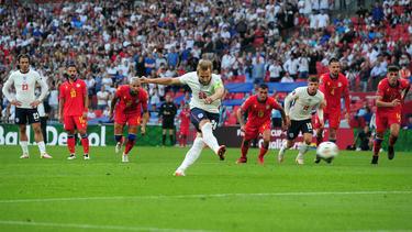 Harry Kane traf für England zum zwischenzeitlichen 2:0