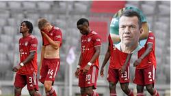 Lothar Matthäus legt Sarr (re.) einen Vereinswechsel nahe