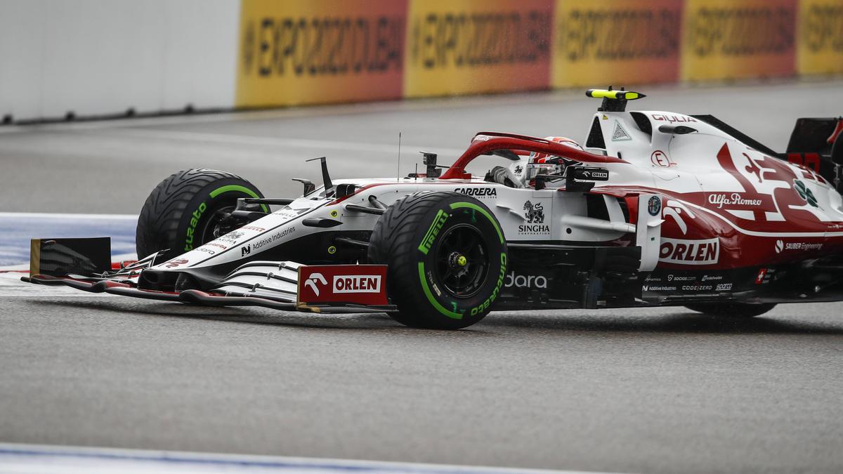 Bei Giovinazzi wurde vor dem Rennen in Russland das Getriebe gewechselt