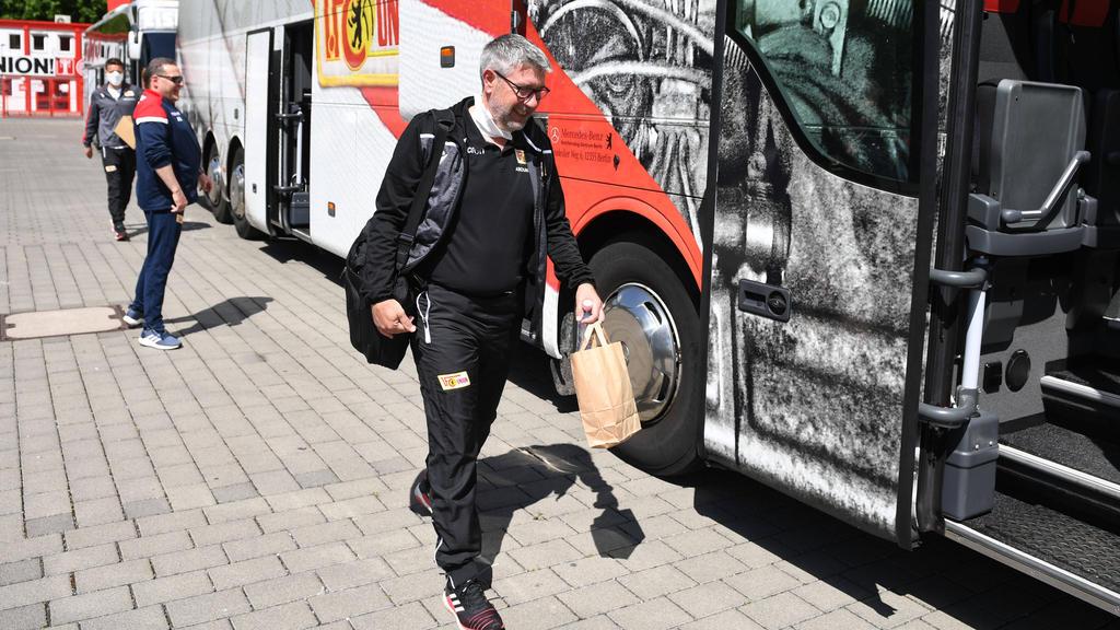 Union Berlins Cheftrainer, Urs Fischer nimmt seine Spieler in die Pflicht