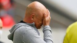 Uwe Rösler unterlag mit Düsseldorf auch in Hannover