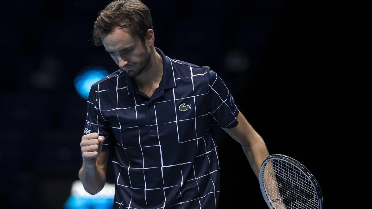 Daniil Medvedev trifft bei den ATP Finals auf Rafael Nadal
