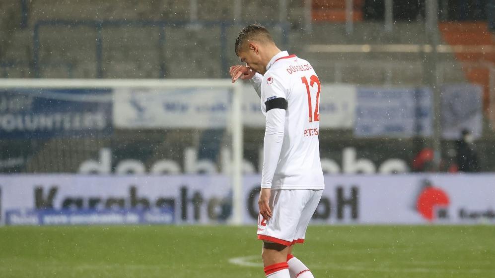 Kristoffer Peterson sah gegen den VfL Bochum die Rote Karte