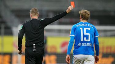 Johannes van den Bergh wurde für zwei Spiele gesperrt