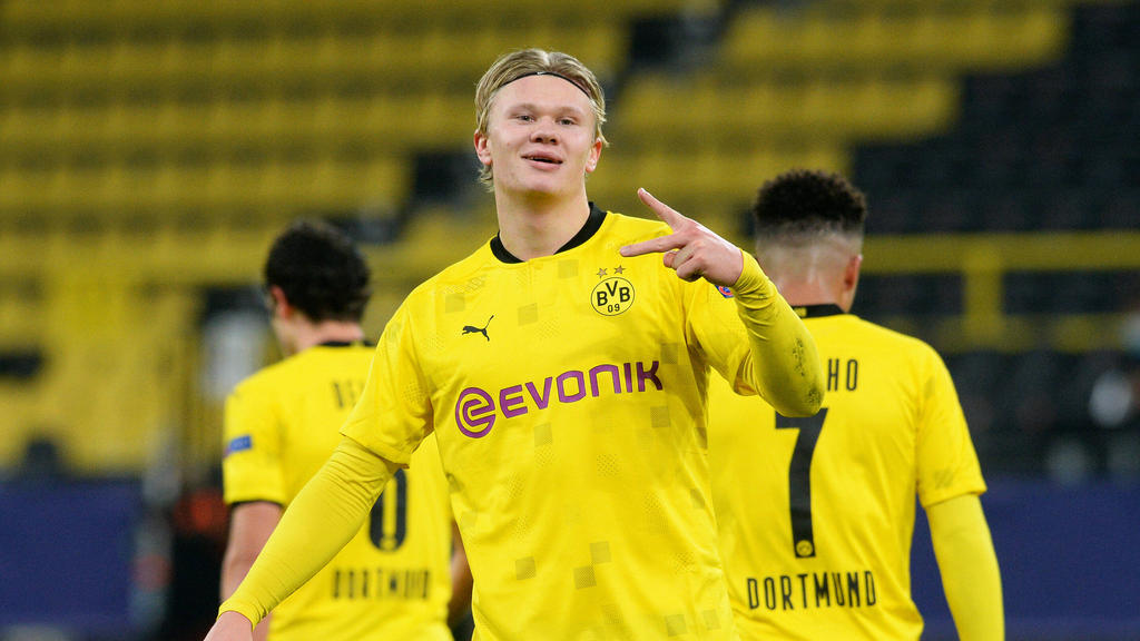 Erling Haaland hat dem BVB zwei Tore in der Champions League beschert