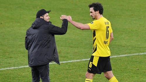 Edin Terzic (l.) und Mats Hummels haben mit dem BVB eine Siegesserie gestartet