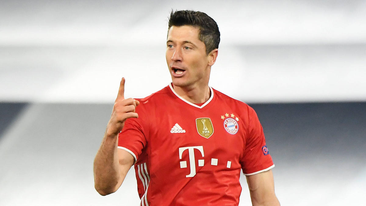 Robert Lewandowski beschäftigt sich nicht mit einem Abgang vom FC Bayern