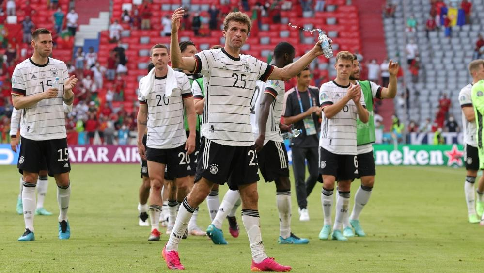 Thomas Müller glaubt an das Weiterkommen