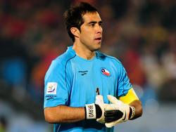 Claudio Bravo im Trikot der chilenischen Nationalmannschaft
