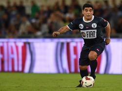 Diego Armando Maradona alla partita per la Pace