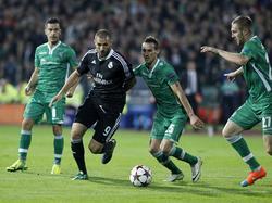 Benzema rettete Real in Bulgarien vor der Blamage