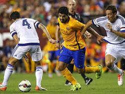 Luis Suárez marcó el empate para igualar el gol inicial de Eden Hazard. (Foto: Getty)