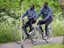 """They see us rollin'"" - Jordan (l.) und Romelu Lukaku (r.)"