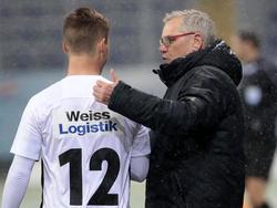 Admira-Trainer Ernst Baumeister kann weiter auf Lukas Malicsek setzen