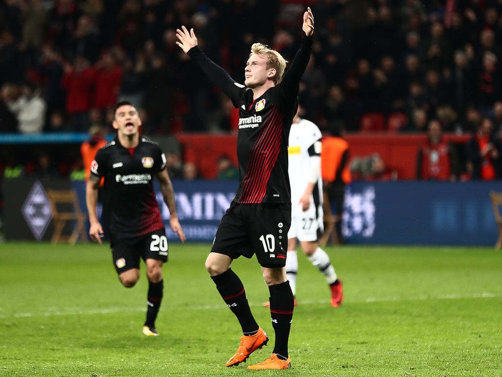 Julian Brandt fühlt sich in Leverkusen gut aufgehoben