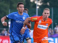 Sebastian Bauer (links) ist den Niederösterreicher auch im Cup gut aufgefallen