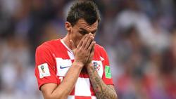 Mario Mandzukic hat seinen Abschied aus der kroatischen Nationalmannschaft verkündet