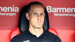 Steht nach zwei Spielen schon unter Druck: Trainer Heiko Herrlich von Bayer Leverkusen