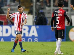 Orbelín Pineda marcó el gol de la victoria de las 'Chivas'. (Foto: Getty)