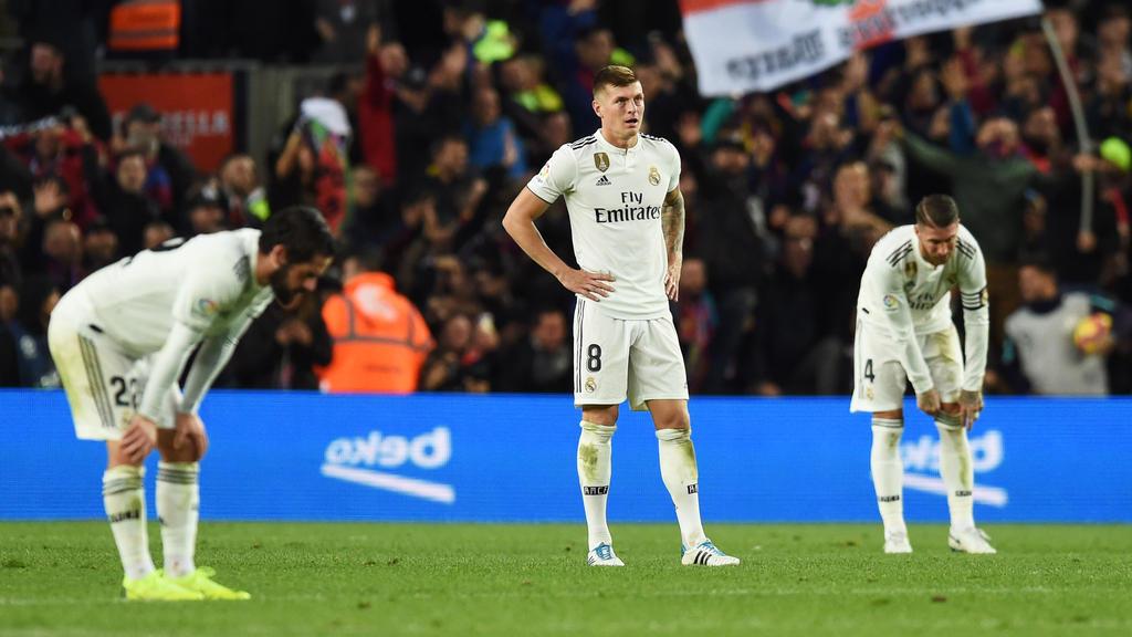 Toni Kroos befindet sich derzeit gemeinsam mit Real Madrid im Formtief