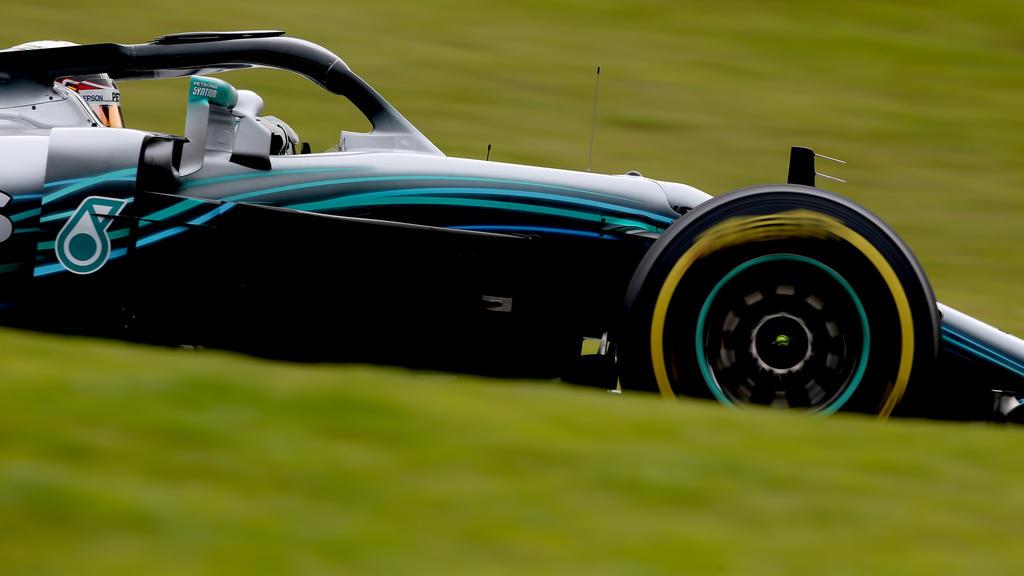 Mercedes konnte sich in Brasilien wieder in Szene setzen