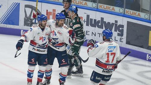 Sechs verschiedene Mannheimer trafen beim vierten Sieg in Serie