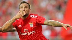 Haris Seferovic trifft mit Benfica auf Eintracht Frankfurt