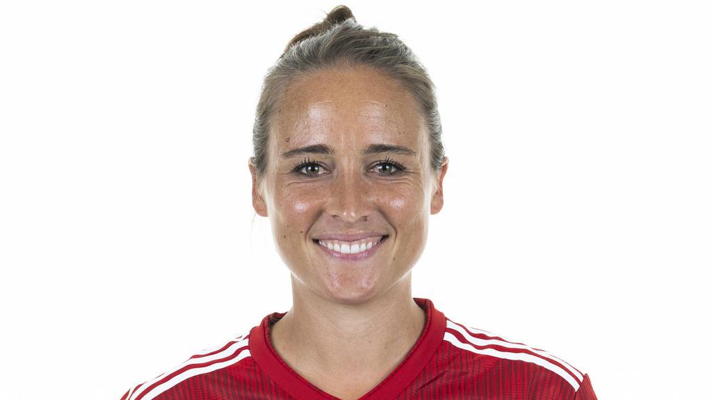 Gina Lewandowski erzielte den Ausgleich für den FC Bayern