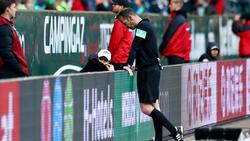 Marco Fritz entschied im Spiel des BVB in Bremen nicht auf Handelfmeter