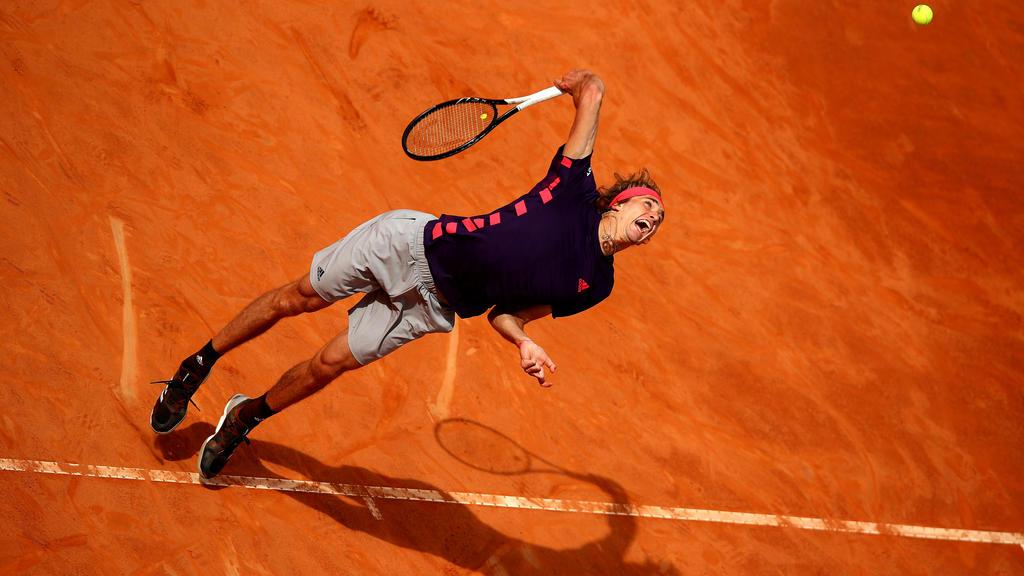 Alexander Zverev hat vor dem French-Open-Start Selbstvertrauen getankt