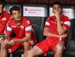 Philipp Hosiner (li.) und Dennis Daube (re.) fehlen Union Berlin gegen Fürth