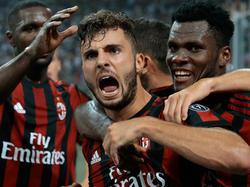 Der AC Milan steht in den Playoffs