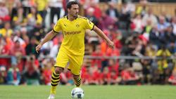 Mats Hummels hat bereits erste Testspiele für den BVB bestritten