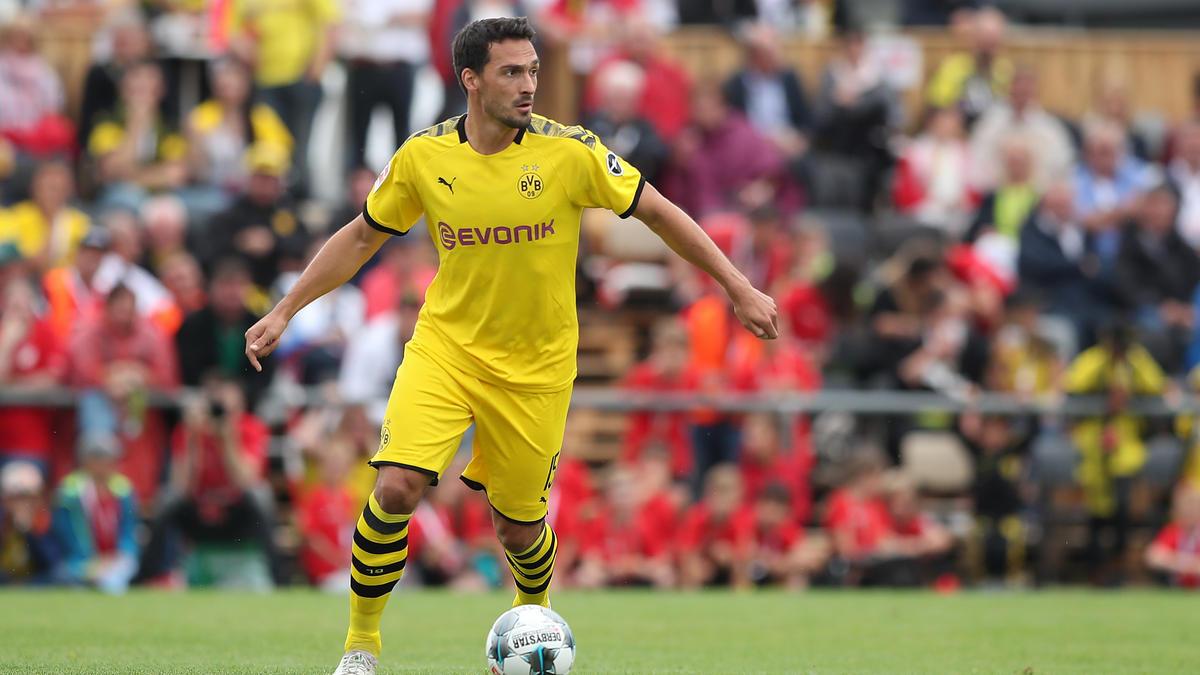 Mats Hummels durfte in der zweiten Hälfte die Kapitänsbinde beim BVB tragen
