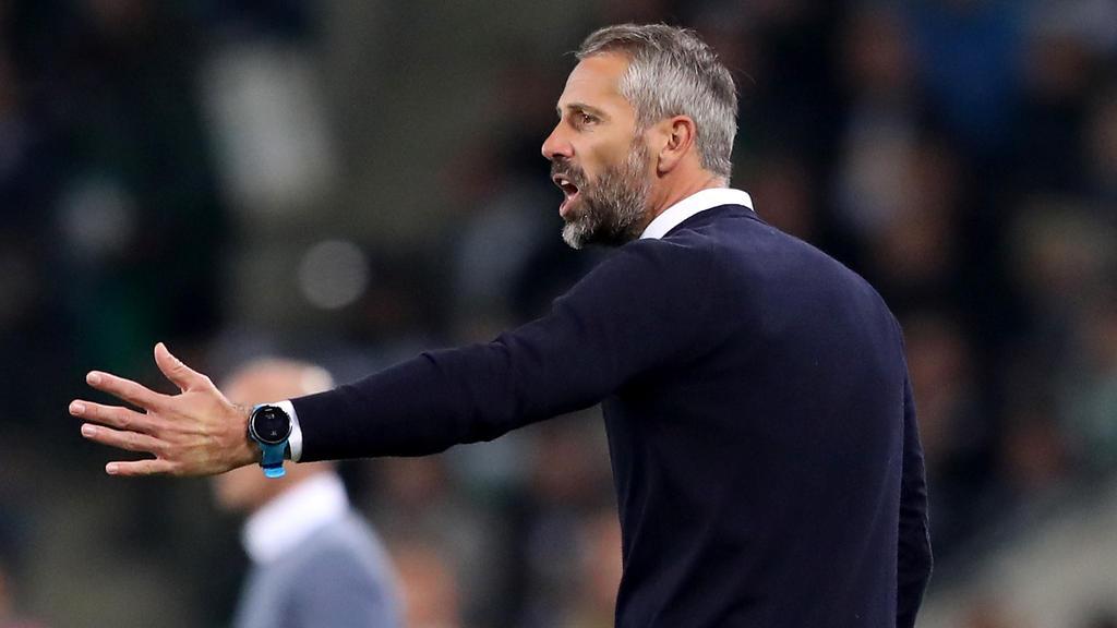 Marko Rose wollte die Europa-League-Pleite schnell vergessen